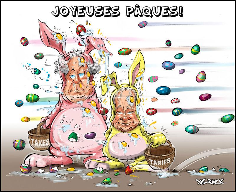 Budget 2010 au Quebec et pâques | Esprit Logique