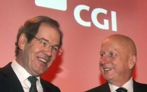 Le PDG et fondateur de CGI Serge Godin et son président exécutif