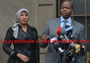 Ken Thompson & Nafissatou Diallo le 10 decembre 2012