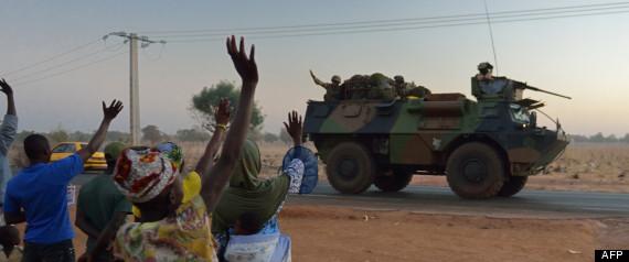 Guerre et liberation du MALI avec l'interviention militaire francaise