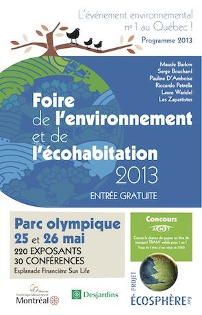 Projet ECOSPHERE Montreal
