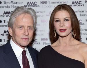 Michael Douglas & Catherine Zeta Jones 2015