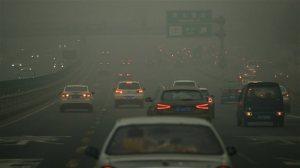 Chine: smog a Pekin en 2015