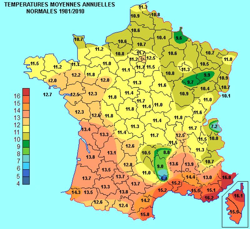Climat, ensoleillement et sécurité en France | Esprit Logique